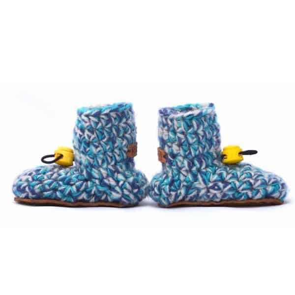 Baby Blues Baby Wool Booties