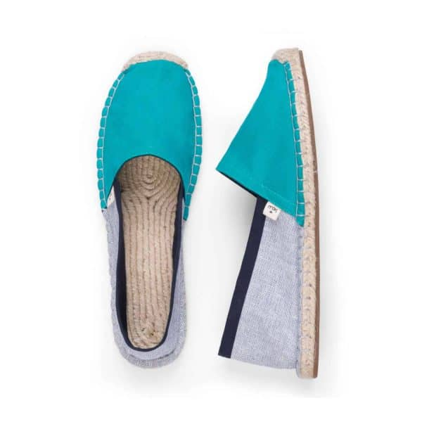 Classic Curacao Turquoise Blue Espadrilles for Women