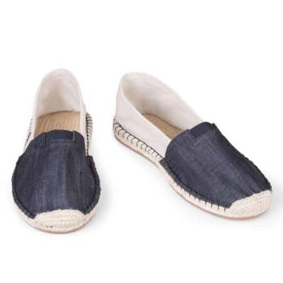 Eburnean Black ExtraFit Espadrilles for Men