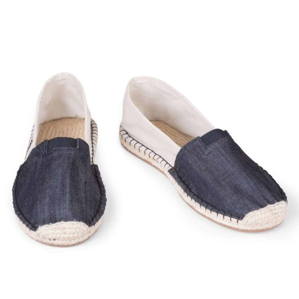 ExtraFit Eburnean Black Espadrilles for Men