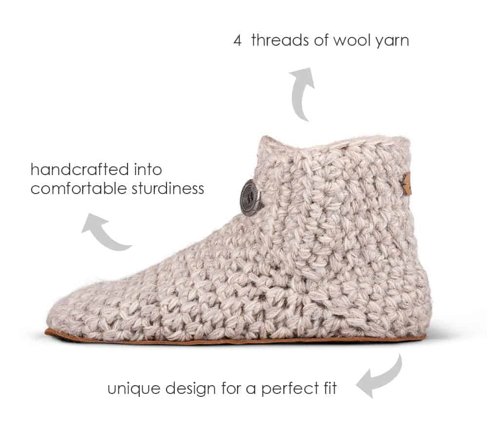 KOW Handcrafted Wool Slippers