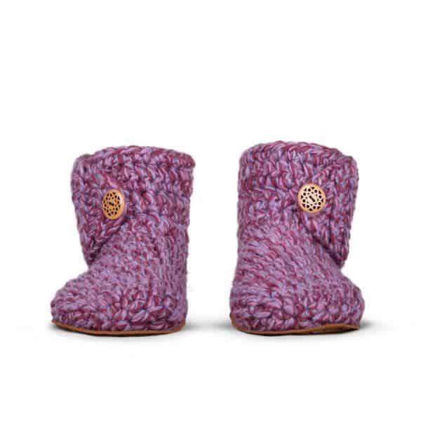 Jungle Wool Slippers for Women