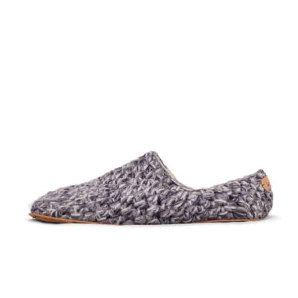 Stone Grey Low Top Slippers for Men