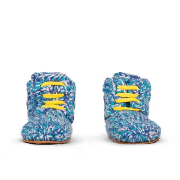 Blues Sports Wool Slippers for Kid