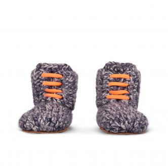 Storm Orange High Top Slippers