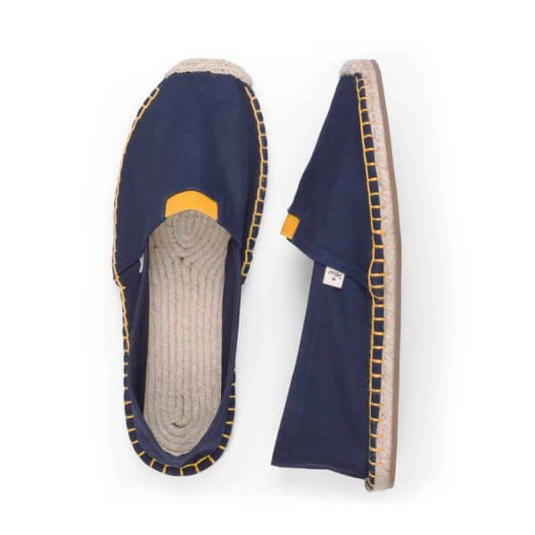 ExtraFit Urban Nights Espadrilles for Men Blue Yellow