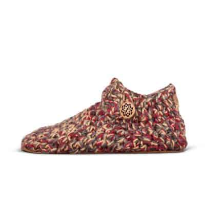 Indian Summer Low Top Wool Slippers for Women