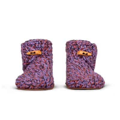 So 70s High Top Wool Slippers for Women