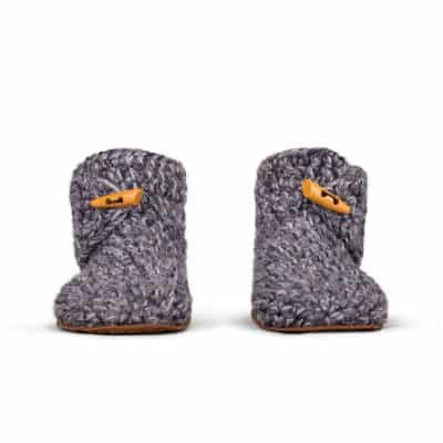 Stone High Top Wool Slippers for Women