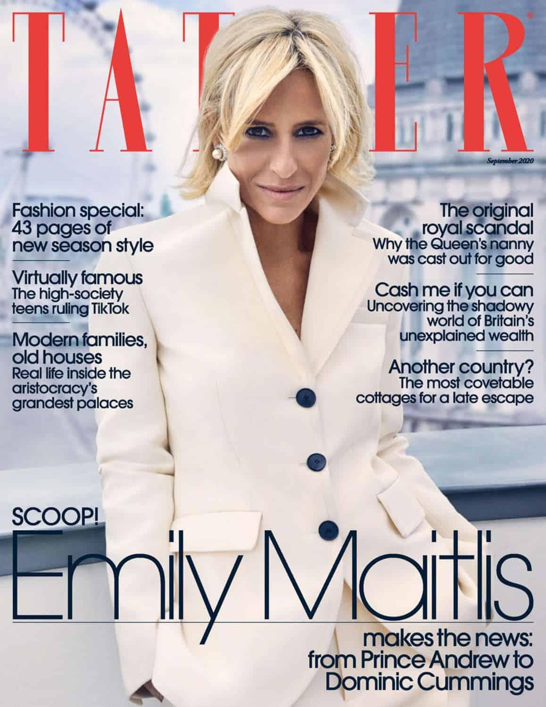 Tatler Cover | September 2020
