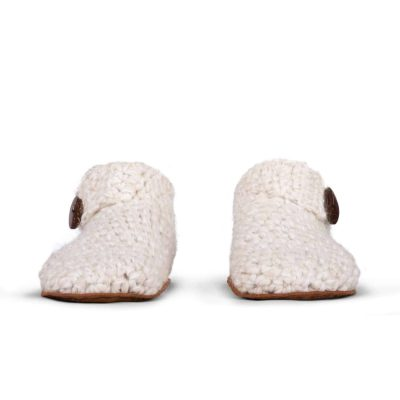 Snow Low Top Wool Slippers for Women