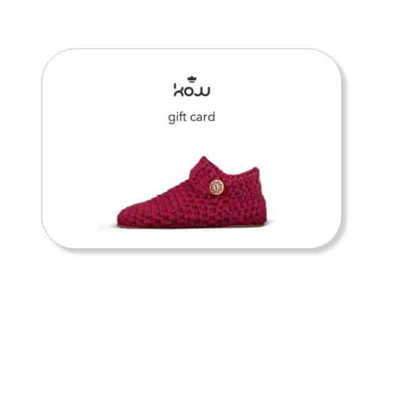 Kingdom of Wow! gift card_womens slippers