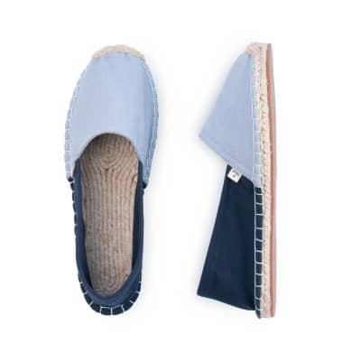 Songbird Blue Classic Espadrilles for Women